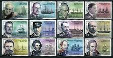 More details for south georgia & sandwich isl stamps 2015 mnh ships scientists explorers 12v set