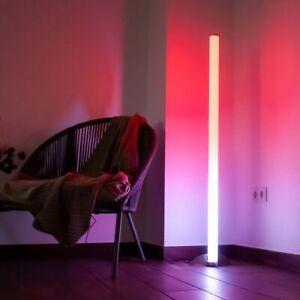 RGB LED Luxus Steh Lampe Farbwechsel bunt dimmbar Fernbedienung Stand Leuchte