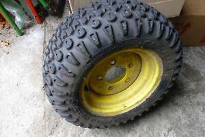 Vorderrad für John Deere X 595, X748, X948, XSerie Allrad Reifen mit Felge gebr.