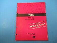 John Deere Operator's Manual Om-Ga10450 230 Shredder Feeder Issue H5 M5094