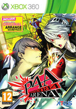 Persona 4 Arena Limited Edition XBOX 360 IT IMPORT PQUBE