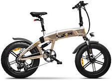 """Fat-Bike Bicicletta Elettrica Pieghevole a Pedalata Assistita 20"""" 250W ICON.E i"""