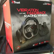 Trust Gaming 21414 GXT 580 Steering Wheel with Pedals and Vibration Feedback