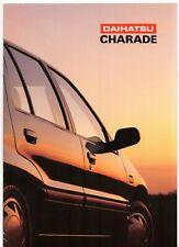 Daihatsu Charade 1991-92 UK Market Sales Brochure 1.0 TD CX 1.3 CXi GXi GTti