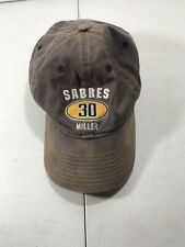 Buffalo Sabres Ryan Miller #30 Hat Well Worn Reebok NHL Face Off Headwear Adjust