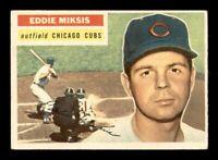 1956 Topps Set Break #285 Eddie Miksis VG-EX *OBGcards*