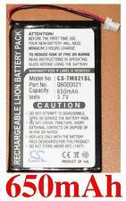 Batterie 650mAh type Q6000021 Pour TomTom 9821X (GPS Mouse)