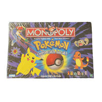 Pokemon Monopoly Board Game Vintage 1999 Collectors Edition Kmart Sealed New