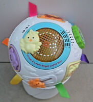 Educational Interactive Vtech CRAWL & LEARN BRIGHT LIGHTS BALL Pink And White