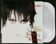 JOAN JETT SIGNED SINNER RSD LP VINYL RECORD ALBUM W/JSA CERT RARE BLACKHEARTS