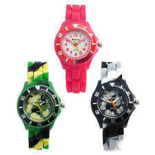 Ravel Kids Childs Silicone Jelly Strap Quartz Watch Easy Read 3 Colours