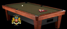7' Simonis 860 Olive Pool Table Cloth Felt w/ Free Matching Chalk!