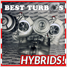 HYBRID TURBO Left+Right Turbocharger BMW 135 335 i E90 / E91 / E92 / E93 306 HP!
