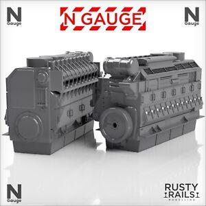 Locomotive Engine - N Gauge
