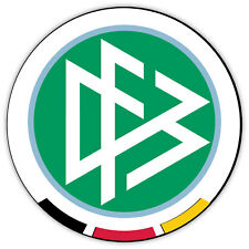"Germany National Team DFB circle sticker decal 4"" x 4"""
