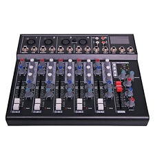OZSTOCK 6 Channel Mixing Desk With USB Playback SD card