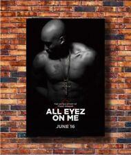 Costom Poster All Eyez On Me Movie Untold Tupac 12x18 27x40 Art Silk