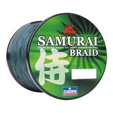 New Daiwa Samurai Braided Line - Green 20lb Test, 1500 yards - DSB-B20LBG