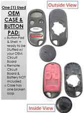 Case shell buttons A269ZUA108 keyless remote control fob entry alarm wireless