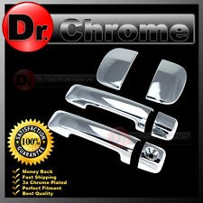 07-15 TOYOTA TUNDRA DOUBLE CAB Chrome 4 Door Handle no Passenger Keyhole Cover