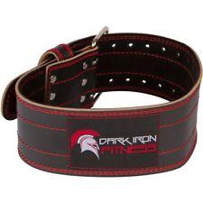 Cinturón Cuero Para Levantamiento De Pesas Ajustable Estabilizador De Espalda