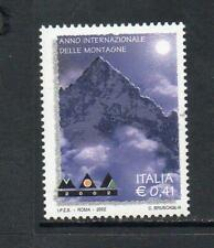 ITALY MNH 2002 SG2748 INTERNATIONAL YEAR OF MOUNTAINS