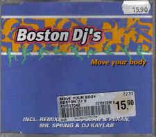Boston DJs-Move your body cd maxi single