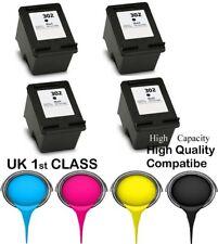 4 REMANUFATURED hp302 Black High Capacity& Quality cartridge for HP printer