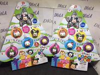 """2017 Disney Tsum Tsum """"Holiday Gift Set"""" a Walgreens Exclusive w/6 Seasonal Figu"""