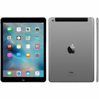 "Tablette iPad Air 2 A1567 Wifi + cellulaire 4G 9,7"" 128 GB iOs 14 désimlocké"