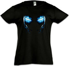 Mark II Armor Eyes Enfants Fille T-shirt Tony Stark Iron Arc Reactor Sign 3 on