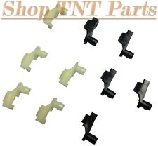 10pc Door Lock / Hood Latch Rod Clips Chrysler, Ford, GM & AMC Left & Right Side