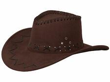 Cappello da cowboy stile western texas australiano marrone (C-05) 0497967321b2