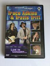 TRACE ADKINS & TRAVIS TRITT Live In Concert DVD Sound Stage 2004 All Regions