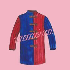 Halloween Gift Blue And Red Gambeson Medieval Padded full sleeves reenactment