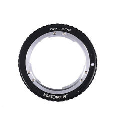 Adapter for CONTAX YASHICA C/Y Lens to Canon EOS EF Mount Camera 60D 600D Camera