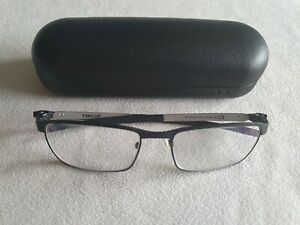 Oakley Tincup glasses frames in pewter coal. OX 3184-0154. With case.