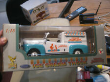 Road Legends  1948 FORD F-1 HOWARD JOHNSON'S ICE CREAM TRUCK 1/18 Scale  NIB PPD