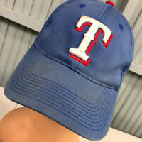 Texas Rangers MLB Adjustable Discolored Baseball Cap Hat