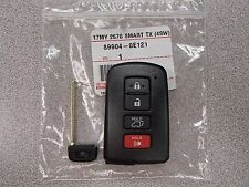 NEW Genuine 14-16 Toyota Highlander Smart Remote UNCUT Key HYQ14FBA 89904-0E121