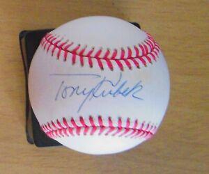 Tony Kubek auto Official American League Baseball  FREE SHIPPING