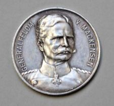 AUGUST VON MACKENSEN  GERMANY SILVER MEDAL