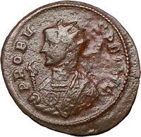 PROBUS 281AD Rare Authentic Genuine Ancient Roman Coin ROMA TEMPLE  i24754