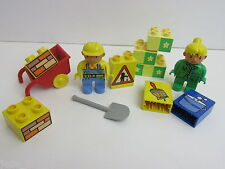 LEGO DUPLO BOB THE BUILDER Wendy Figure strumenti mattoni CITY SET LOTTO 196