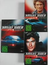 Knight Rider Sammlung - David Hasselhoff, K.I.T.T., Knight, Season 1, 2, 3 Paket