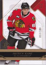08-09 SP Game Used Patrick Kane /100 GOLD Parallel Blackhawks 2008