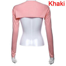 Fashion Hijab Muslim One Piece Sleeves Arm Cover Shrug Bolero Hayaa MulticolorE&
