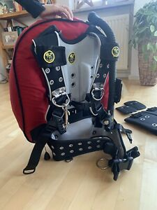 Poseidon BCD Tarierweste Tauchjacket One Wing One Harness Tauchen