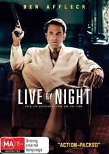 LIVE BY NIGHT New Dvd BEN AFFLECK ***