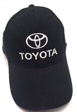 TOYOTA black adjustable cap / hat - Western Washington Dealers